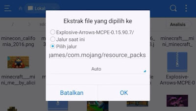 Cara pasang Add on Minecraft PE Naruto
