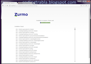 Install Zurmo CRM 3.1.5 on Windows with XAMPP PHP CRM tutorial 31