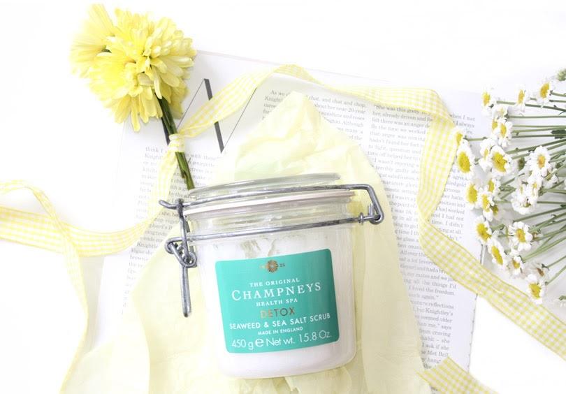 champneys detox seaweed sea salt scrub