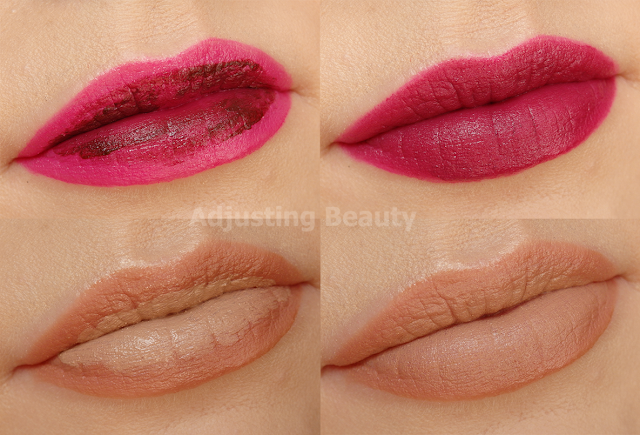 Review Avon Mark Liquid Lip Lacquer Shine And Matte All Colors