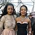 #Isibaya leading ladies Jessica Nkosi and Nomzamo Mbatha working together on yet another show