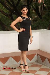 Actress Kamna Ranwat  Pictures in Black Short Dress at Selfie Raja Interview  0309