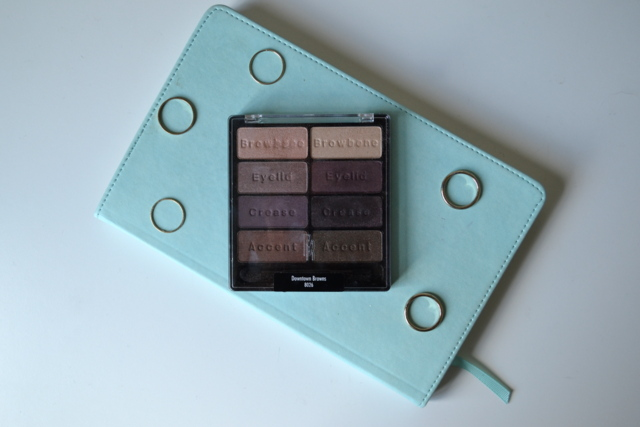 Wet n Wild Downtown Browns Eyeshadow Palette