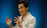 Former UNFCCC executive secretary Christiana Figueres. (Photo Credit: Al Jazeera) Click to Enlarge.