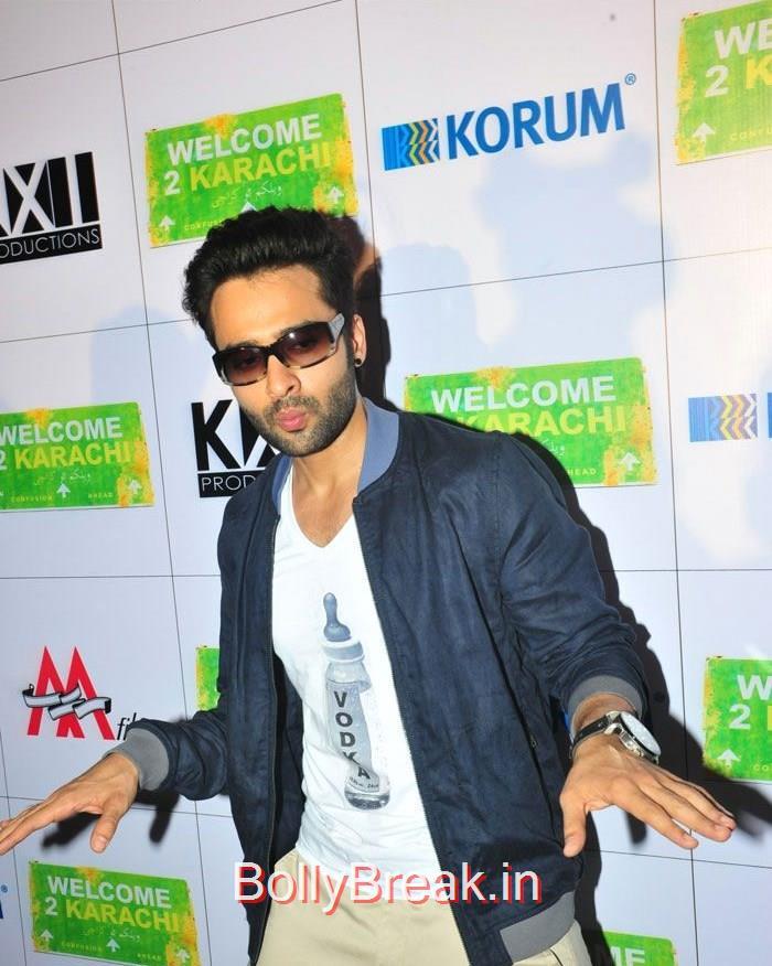 Jackky Bhagnani, 'Welcome To Karachi' Promotion at Korum Mall