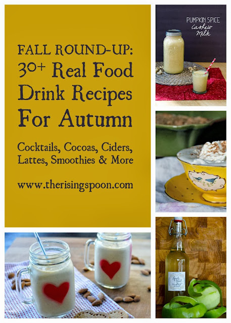 Round-Up: 30+ Real Food Fall Drink Recipes