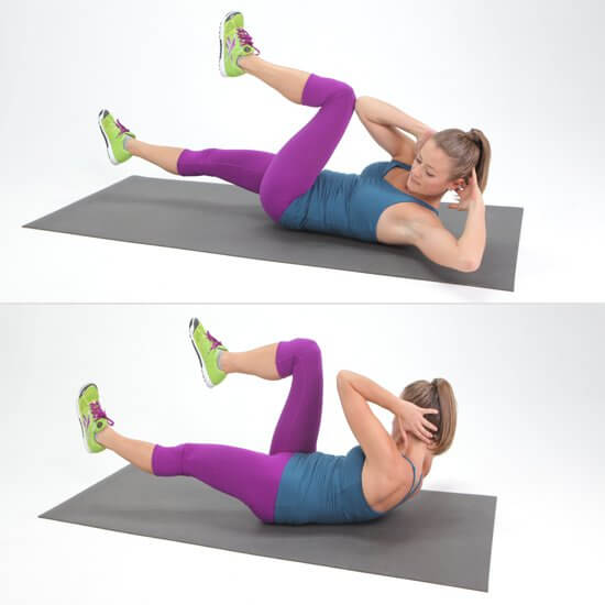 6 Simple Exercises That Will Help You Reduce Belly Fat - Twist Crunches