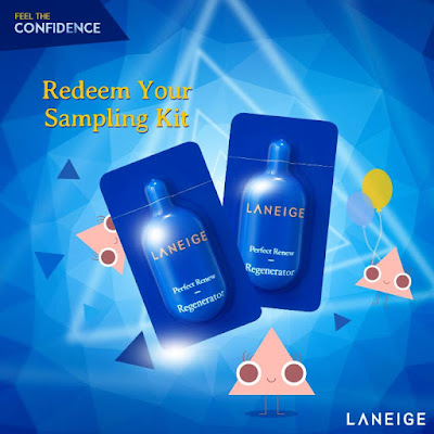 LANEIGE Malaysia Free Perfect Renew Sampling Kit