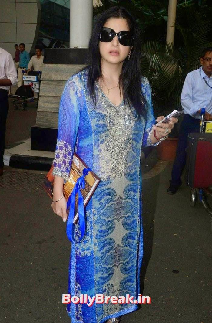 Celebs Attend Arpita Khan's Wedding, Bollywood Celebs at Airport to Attend Arpita Khan's Wedding