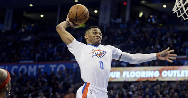 Russell Westbrook Triple Doubles