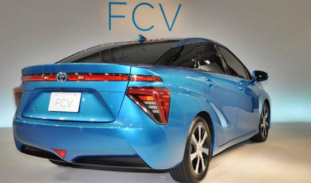 2018 Toyota FCV R Concept