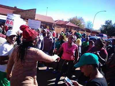 Photos: Lesbian woman raped, stoned to death and burnt in South Africa