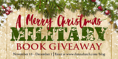 http://donnahatch.com/bookgiveaway-for-us-military-personnel/