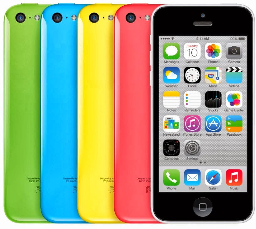 iPhone 5c and 5S offered under Globe Plan 499 and 999 for 24 months