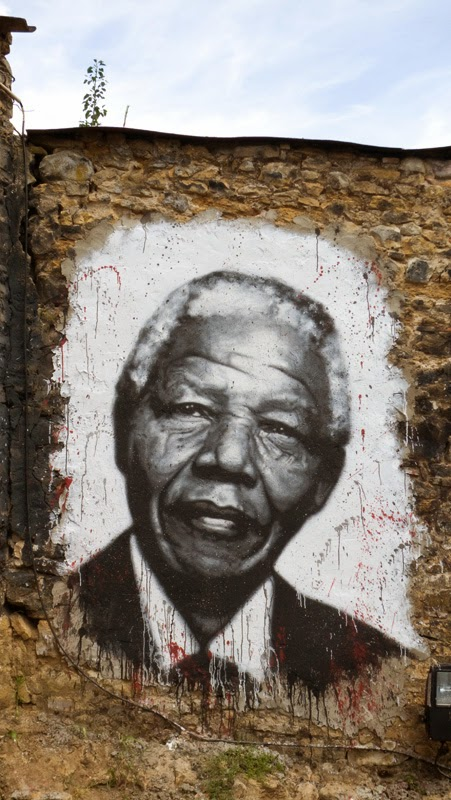 "Nelson Mandela, Inspirational Quotes, Free Your Mind, Freedom, Leadership, Motivation: ""Courage is not the absence of fear — it's inspiring others to move beyond it."""