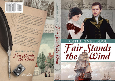 Book Cover: Fair Stands the Wind by Catherine Lodge