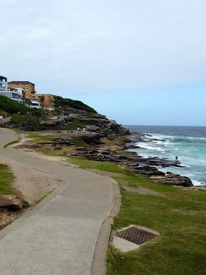 Bondi to Bronte coastal walk in Sydney Australia