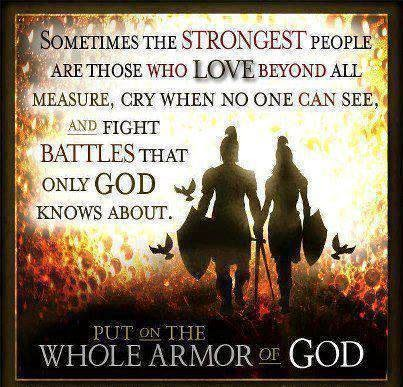 Sometimes the Strongest people Are those who love Beyond ...