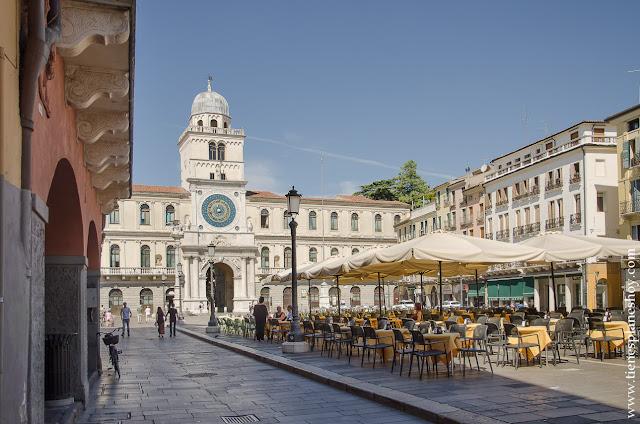 Piazza dei Signori Padua viaje Italia 15 días