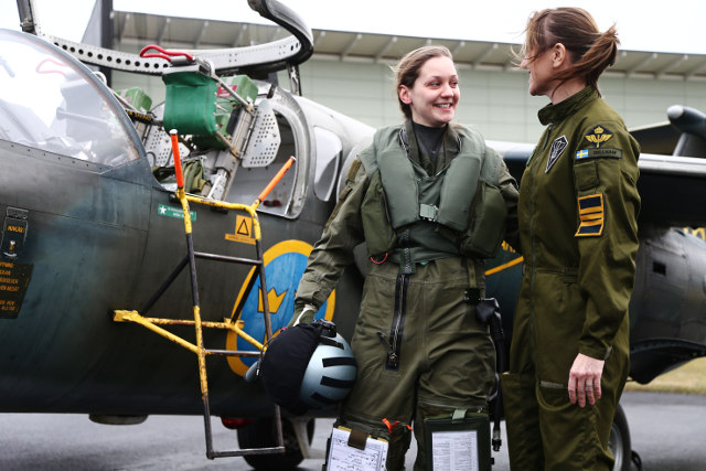Sweden Gets Its First Female Fighter Pilot In Over 25
