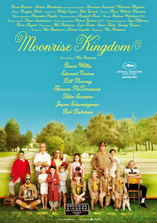 Póster: Moonrise Kingdom (Wes Anderson, 2.012)