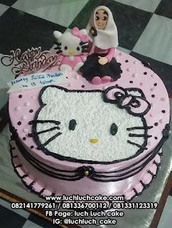 Hello Kitty Buttercream Untuk Anak Cewek