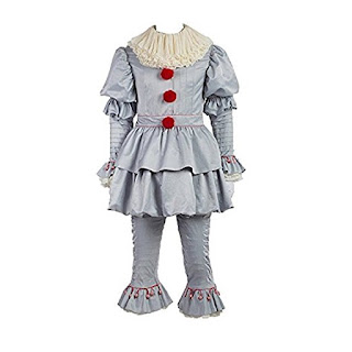 Stephen King, It, Pennywise Costume, Best Horror Movie Costumes