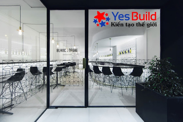 Ứng dụng tấp ốp PVC cao cấp trong thiết kế nhà hàng