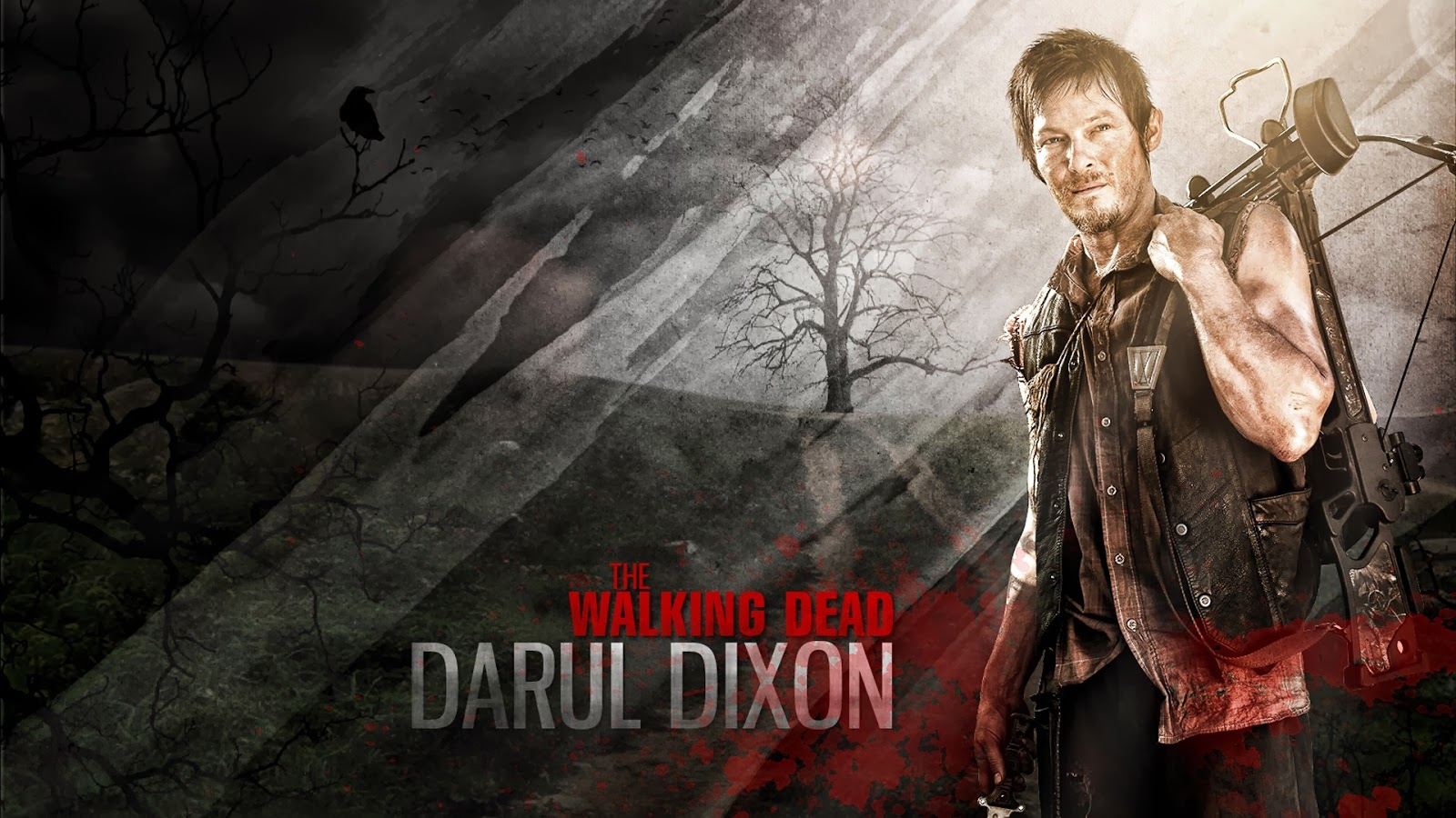 Moviewallpaperz The Walking Dead Daryl Dixon Wallpaper