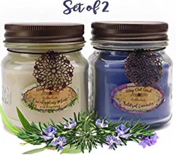 best stress relief gifts:aromatherapy candles