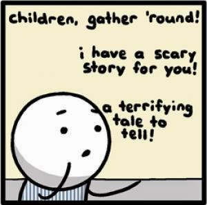 Scary Story #1; When I was a Child