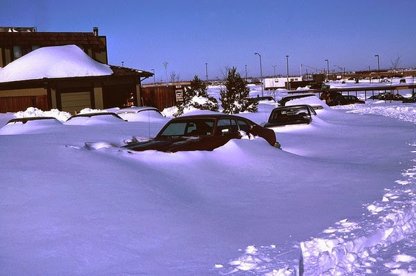 1982 Christmas Eve blizzard in Denver