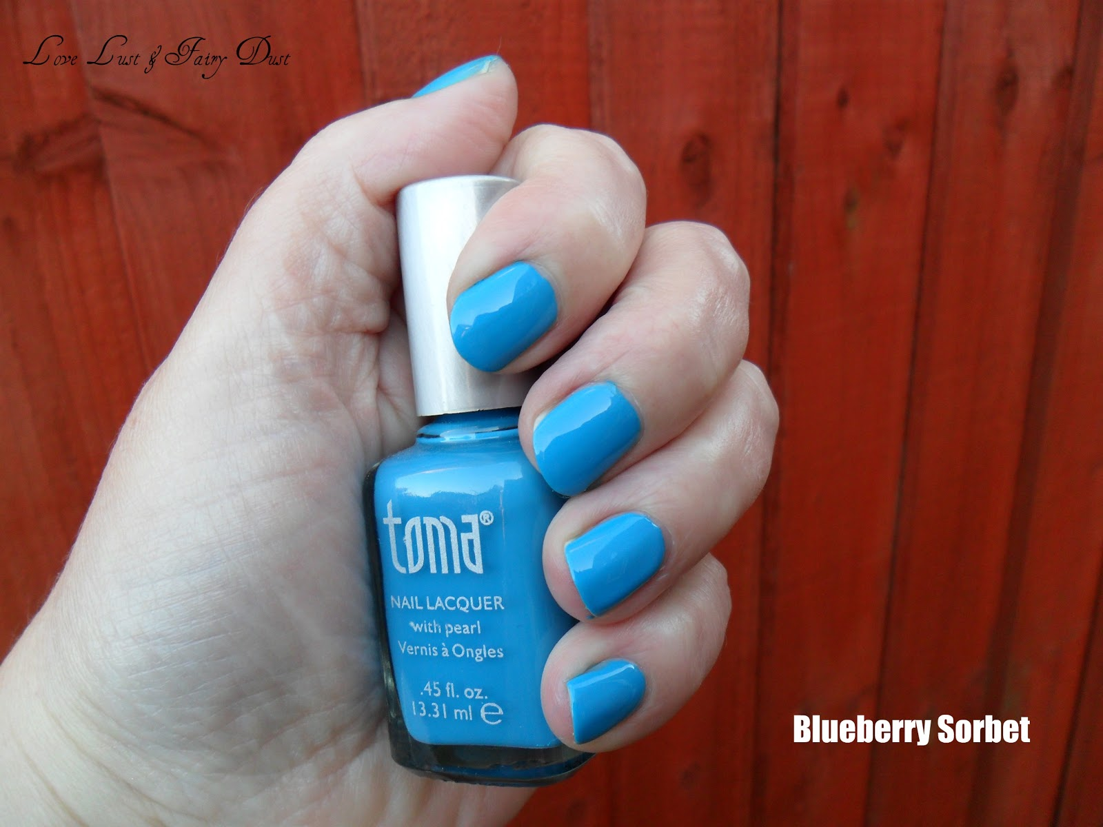 tutti frutti toma nail polish in blueberry sorbet