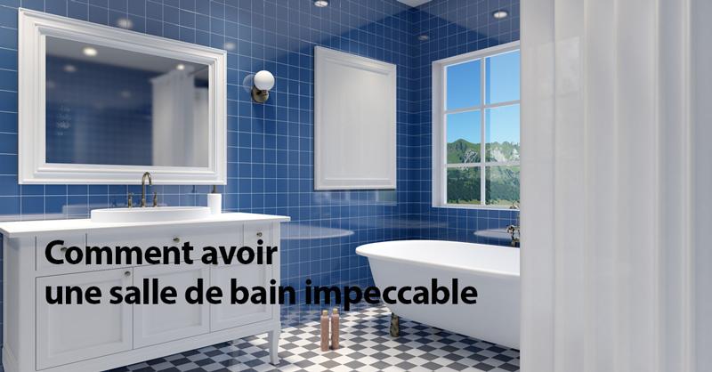 Comment avoir une salle de bain impeccable coupons au qu bec - Comment avoir des vitres impeccable ...