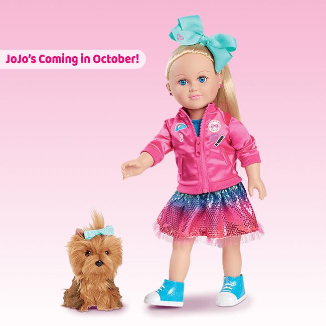 Living A Doll S Life News My Life As Nickelodeon Jojo Siwa Doll