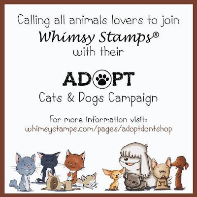 Whimsy Stamps Adopt Don't Shop Party!