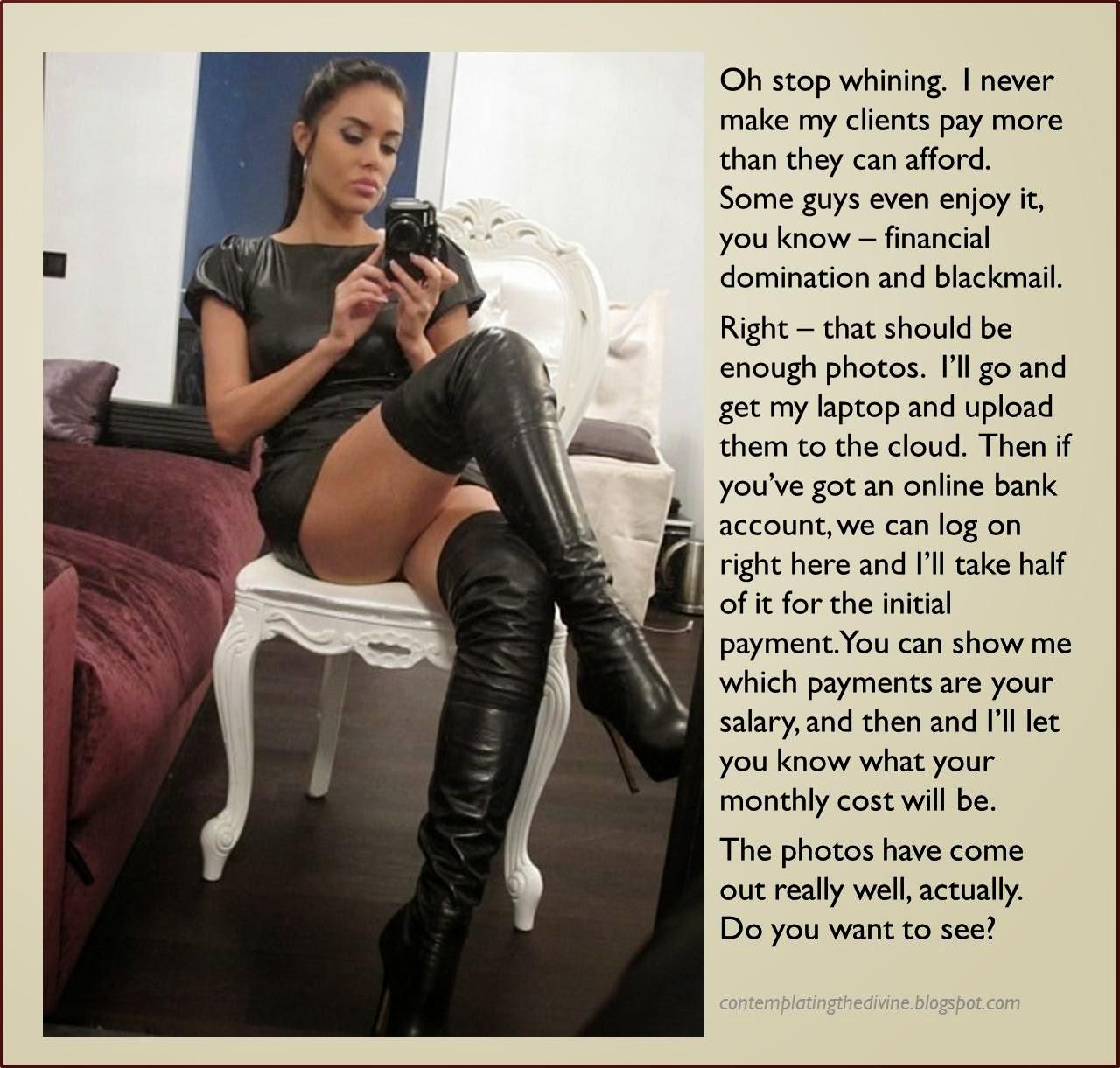 Blackmail Domina