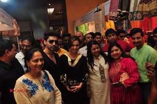 Bollywood Actress Sana Khan Launches Aakrithi Exibition  0303.JPG