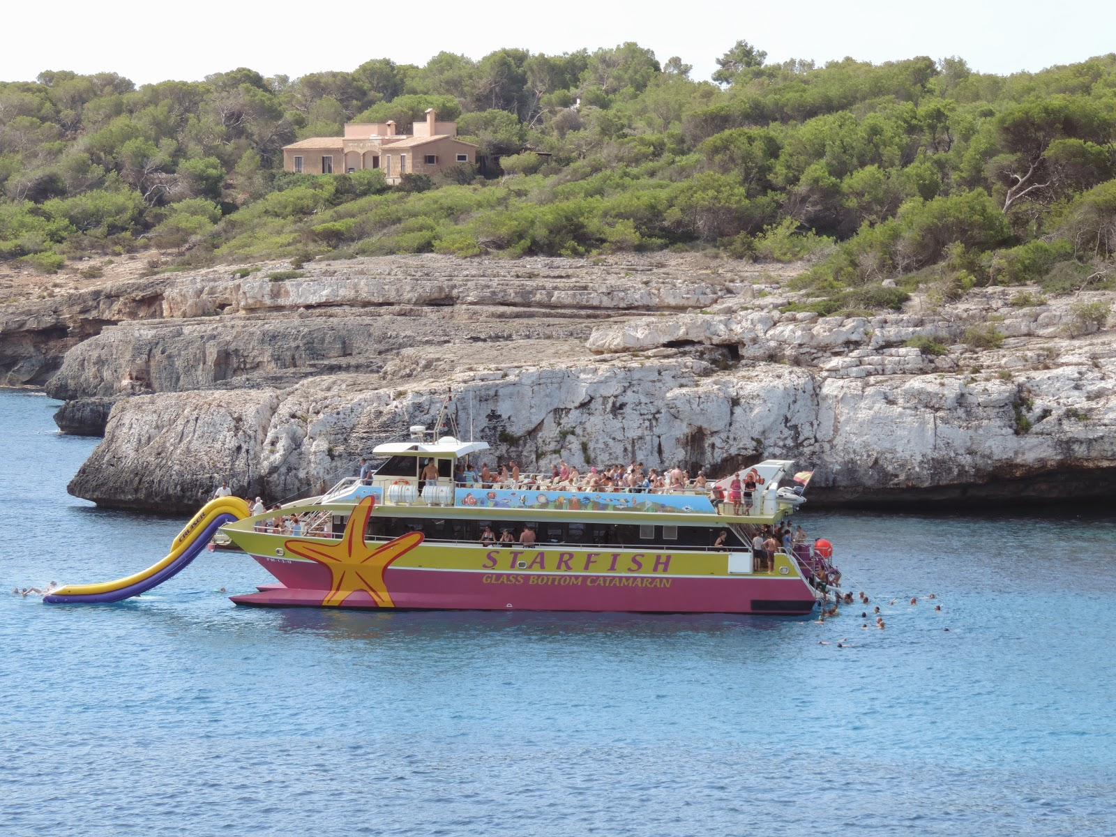 starfish pleasure boat trips mallorca
