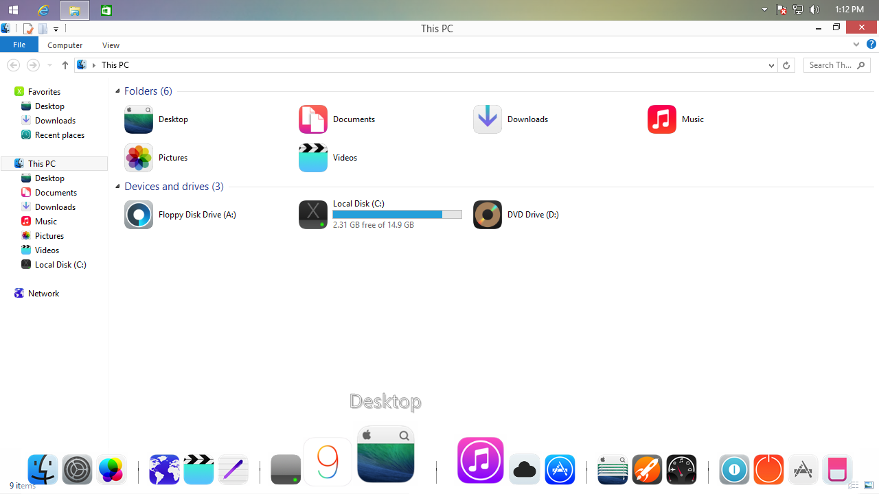 How to install iOS 9 Transformation Pack on Windows 8.1