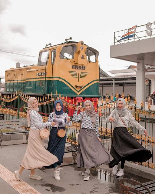 Pedestrian stasiun tugu yogyakarta 2019