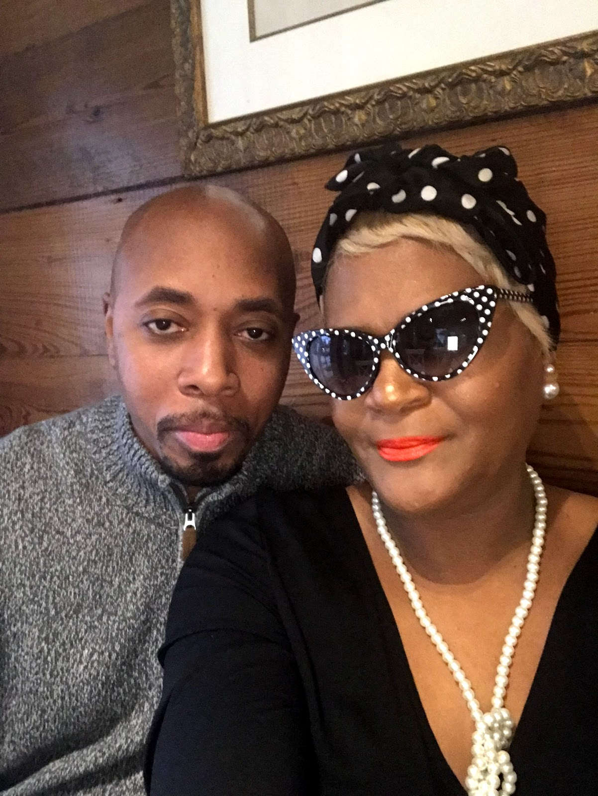 Image Woman and Man (Rico and Tange Bell) enjoying date night and sharing tips on restyling