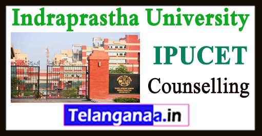 IPU Offline Counselling CET Time Table