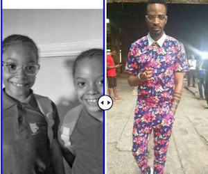 9ice celebrates twins daughters birthday as they turns 7 (Photos)