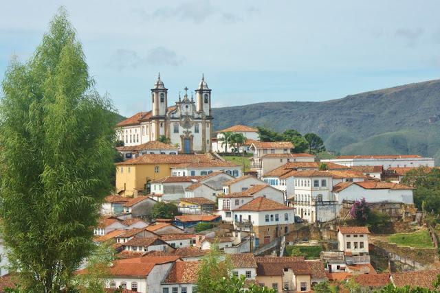 Igreja Nossa Senhora do Carmo, em Ouro Preto.