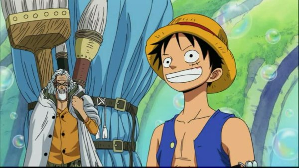 Silvers Rayleigh dan Monkey D. Luffy