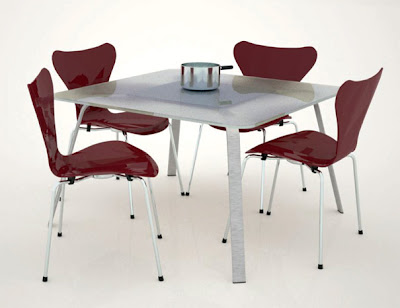 Modern and Innovative Integrated Dining Tables (15) 6