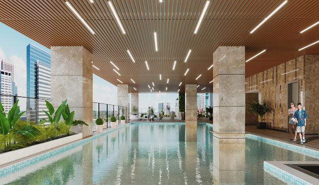 Bể bơi bốn mùa chung cư Bohemia Residence