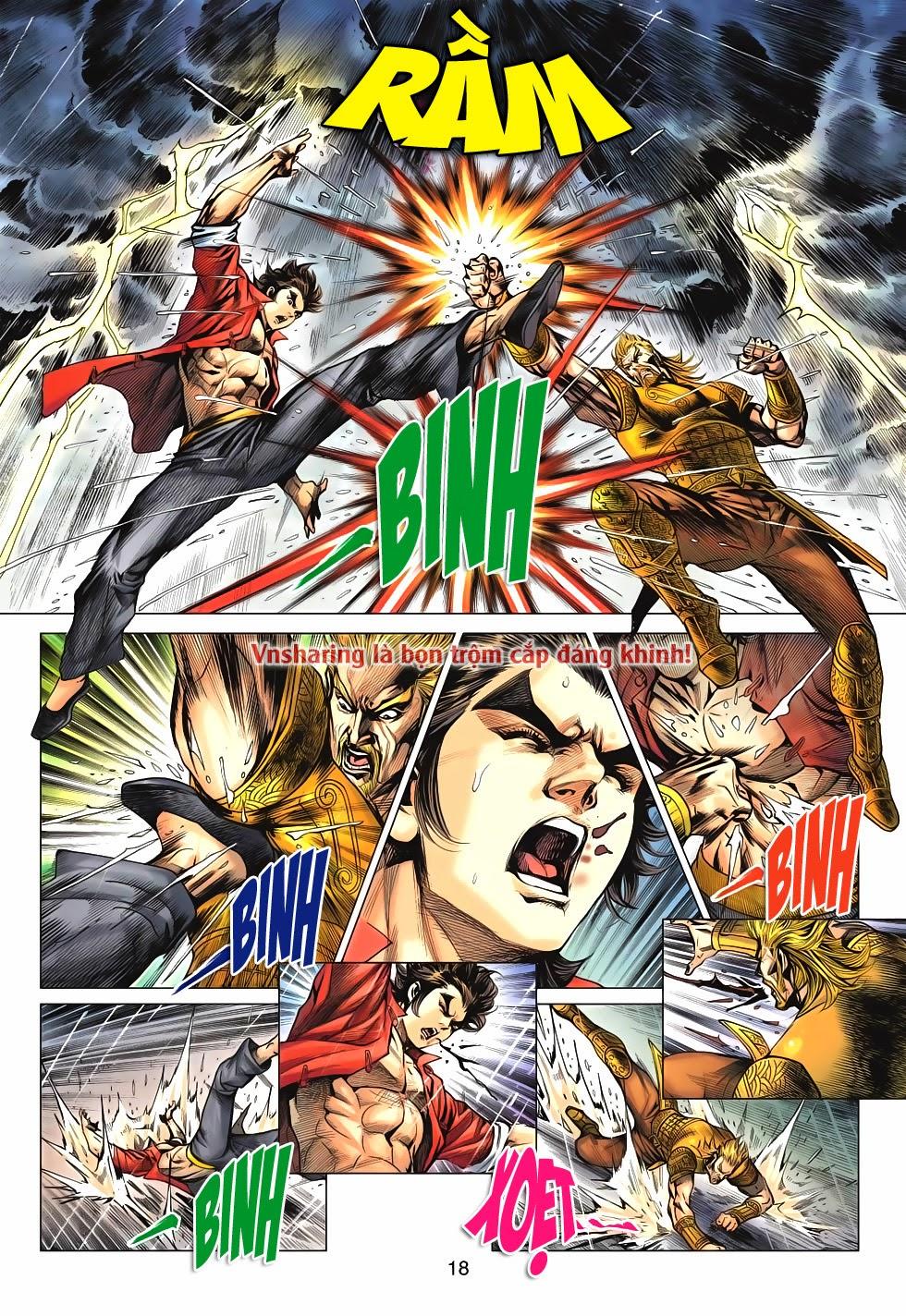 Tân Tác Long Hổ Môn Chap 606 page 17 - Truyentranhaz.net