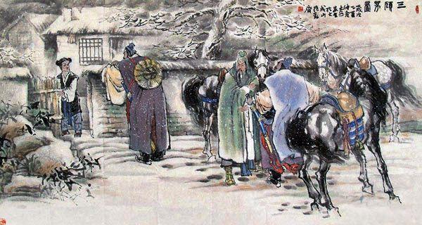 Chapter 37 : Sima Hui Recommends A Scholar To Liu Bei; Liu Bei Pays Three Visits To The Sleeping Dragon Ridge.